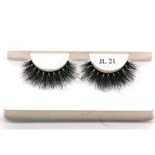 Z145F21 Hitomi 3d Mink Eyelashes High Quality mink eyelash wholesale price Fluffy real 21mm mink eyelashes
