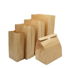 wholesale custom take away potato chips paper bag eco-friendly colorful offset printing