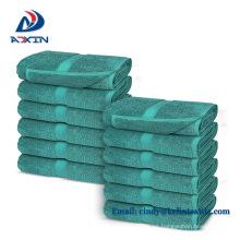 Hotel suministra toallas de hotel de mano color promocional barato 30x30