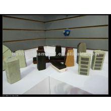 Resina de diamante fickert ligação de metal ou resina de ligação 140mm / 170mm