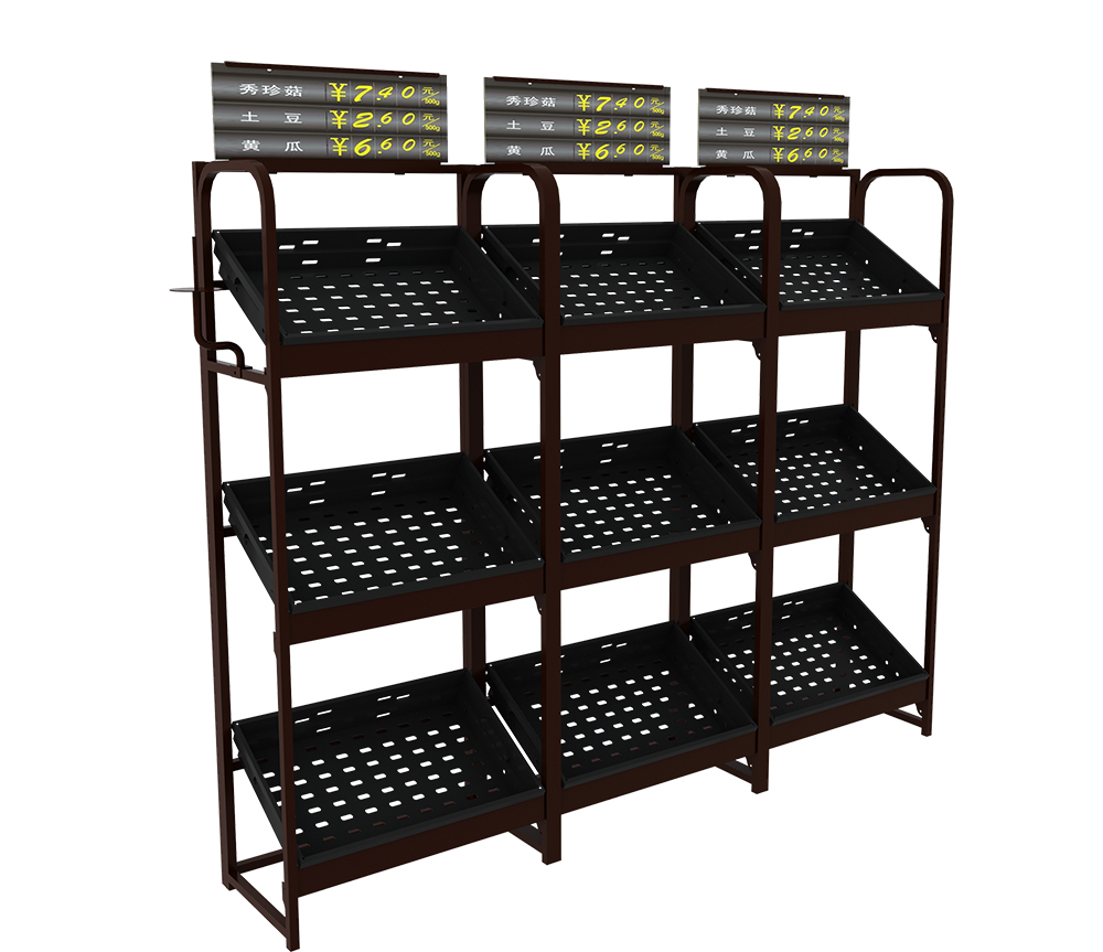 vegetable display equipment