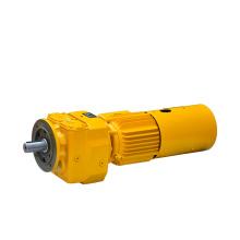 RF flange mounted helical gear motor