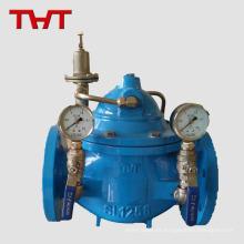 Válvula de presión de agua hidráulica de hierro dúctil