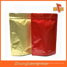 newest metalized stand up pouch with food grade for packing