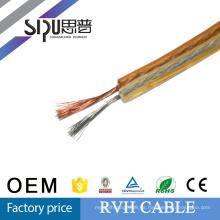 SIPU CCA + TCCA high end RVH cable de altavoz de bajo ruido al aire libre transparente mejor precio cable de altavoz plano