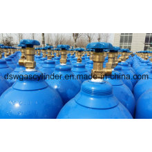 99.999% Oxygen Gas Filled in 8L Cylinderwith Qf-2 Valve