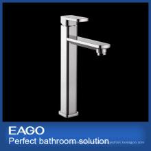 Chrome Square Long Neck Faucet Washbasin Faucet