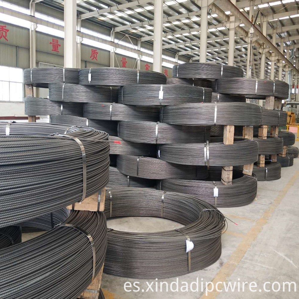 Spiral Ribs Steel Wire