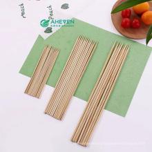 Marshmallow Roasting BBQ Stick Disposable Natural Bamboo Kebab Skewers