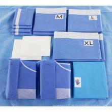 Sterile Einweg-Angiographie-Abdecktuchpackung