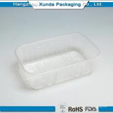 Одноразовый пластиковый лоток для замороженных продуктов