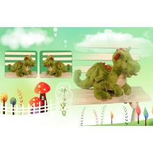 Brinquedo de pelúcia dinossauro bonito