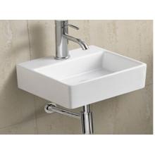 Cerámica colgada de la pared lavabo (006)