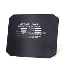 Plaque anti-balles NIJ III 150mmx150mm STAND ALONE PE + SIC