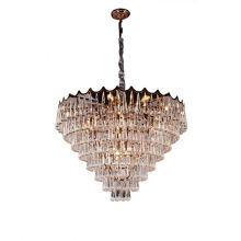 Elegant Style Home Chandeliers Fancy Hanging Lamp Cheap Industrial Pendant Light Square Chandelier