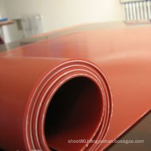 Red Silicone Rubber Heating Sheet / Mat with Insertion