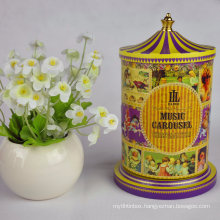 Christmas Gift Box, Custom Tea Packaging Tin Boxes, Decorate Tin Boxes