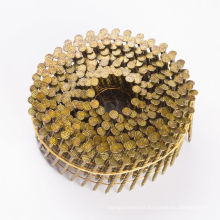 Ring Shank Smooth Screw  Galvanized Roofing Wire Coil Nails