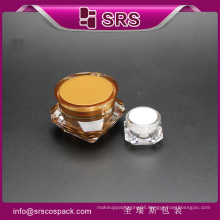 SRS China cosmetic container jar of diamond shape for skincare