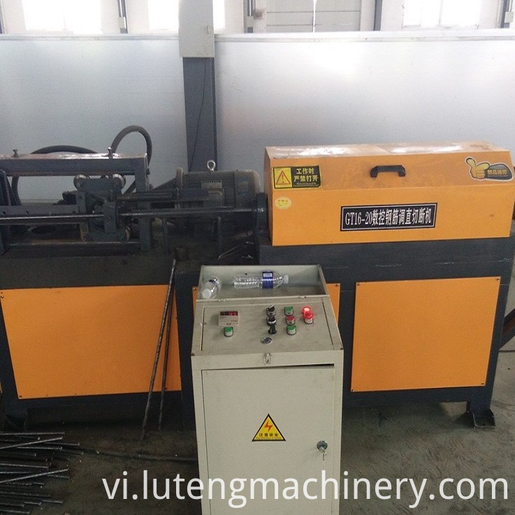 Steel Bar Straightening Cutting Machines