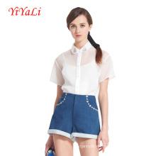Frauen Mode leger Kurzarm Shirt