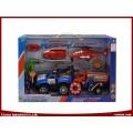 DIY Spielzeug Strand Polizei Rescue Team Spiel Sets für Kinder