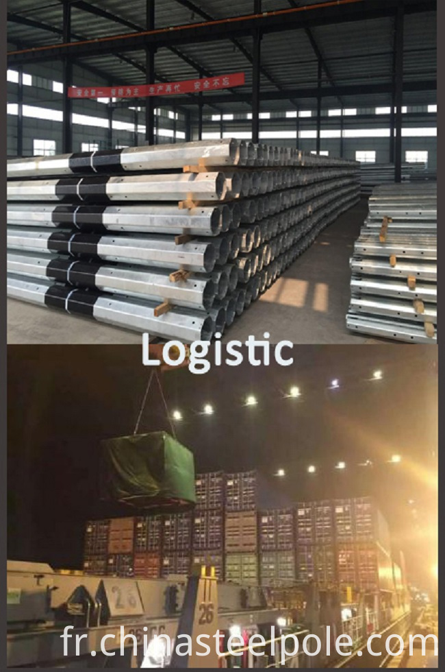 power pole logistic