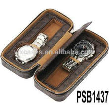 Uhrenbox Leder für 2 Uhren aus China Fabrik hohe Qualität