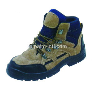 Suede Leather / Anti-Static Safety Shoes