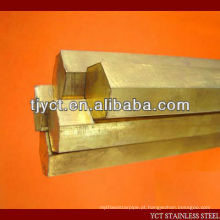 preço de latão por kg / haste de latão / barra de latão hexagonal