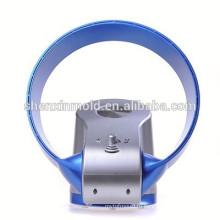 горячая продажа bladeless вентилятор - 12 дюймов со светодиодной подсветкой и пультом (синий)