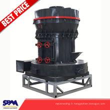 Célèbre machine de broyage de poudre de calcaire de marque SBM, usine de mini usine de gypse