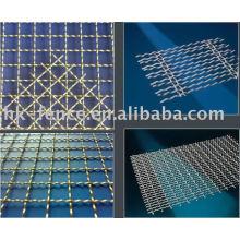 1 filet de fil d'acier inoxydable / treillis métallique de SS / treillis métallique de filtre