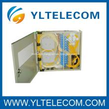 SC fibra óptica cabo de remendo, SC fibra óptica distribuição quadro fixado na parede