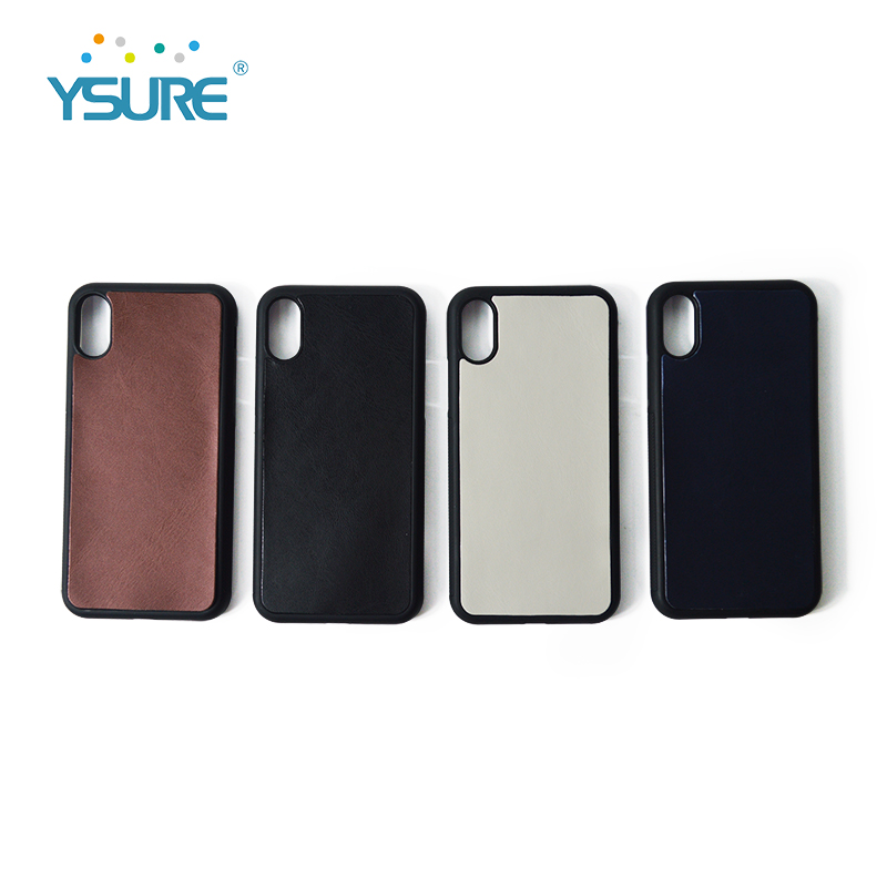 Custom Logo Leather Phone Case for Iphone X