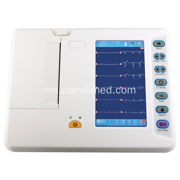 CE Digital 6 Channel ECG Electrocardiograph Machine