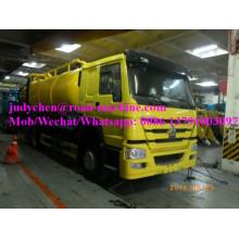 Всасывающая машина для сточных вод HOWO 4X2 15000 л