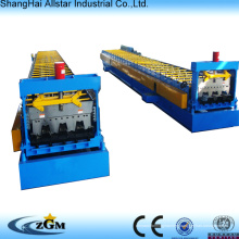 High Speed Steel Roofing And Floor Tile Decker Cold Roll Forming Making Machine