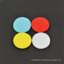 Top selling colorful pads,essential oil locket pads,pads for essential oils necklace