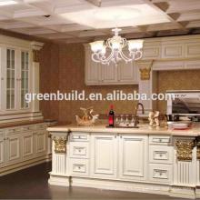 Conception d'armoire de cuisine préfabriquée en bois