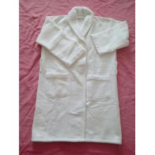 100%cotton waffle terry shawl collar bathrobe