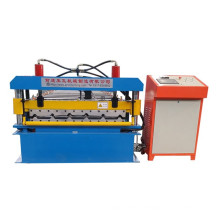 Indonesia Type Metal Roof Panel Sheet Roll Forming Machine