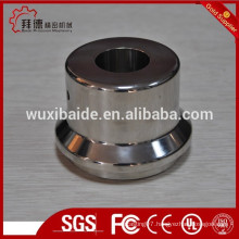 mirro polish cnc machining stainless steel parts for mixing equipments/furniture