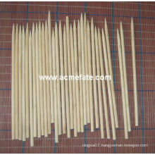 Natural BBQ grill Round Bamboo Skewers