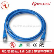 5 футов 26AWG Многожильный кабель CCA UTP Cat6 Патч-корд синий