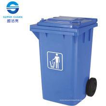 100L / 120L / 240L Seitenrad Kunststoff Mülleimer