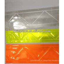 Prismático retro hoja reflectante de PVC