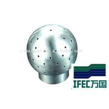 Boule de pulvérisation fixe sanitaire en acier inoxydable (IFEC-B100002)