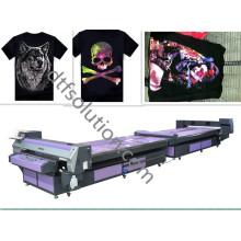 Impresora plana para impresión de algodón