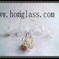 Varios candelabro de cristal / candelabro / candelero